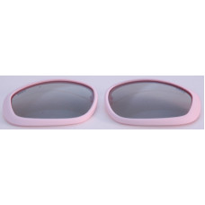 Polarisers for Pink RxMulti3D glasses